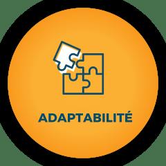 pictogramme adaptabilité