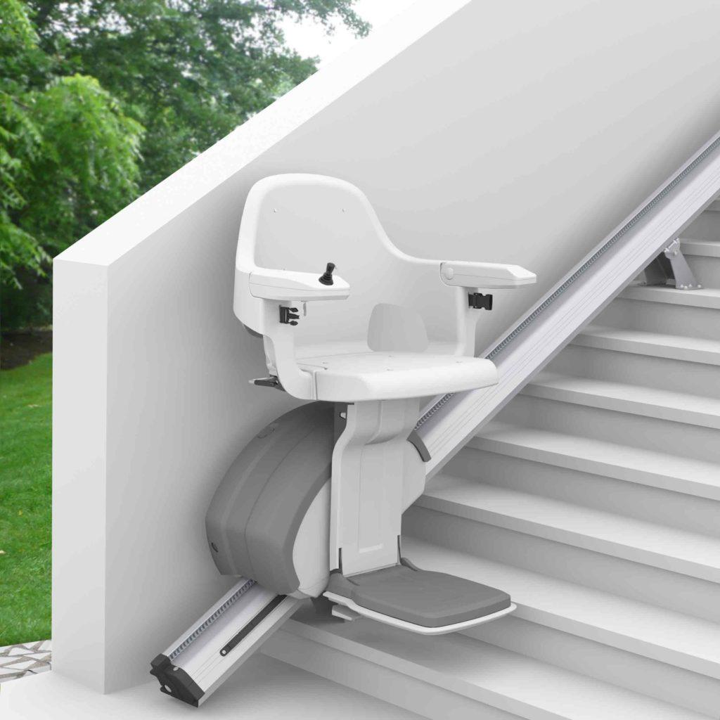 Monte escalier extérieur Access