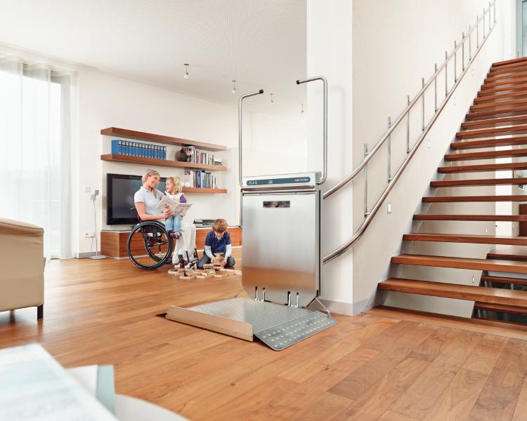 Plateforme monte escalier RB150